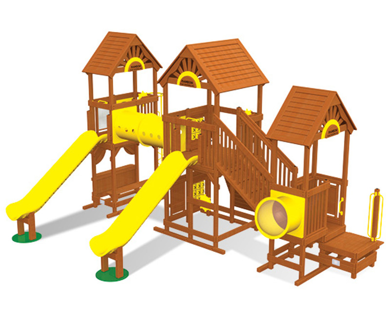 Commercial Play Village Design 801