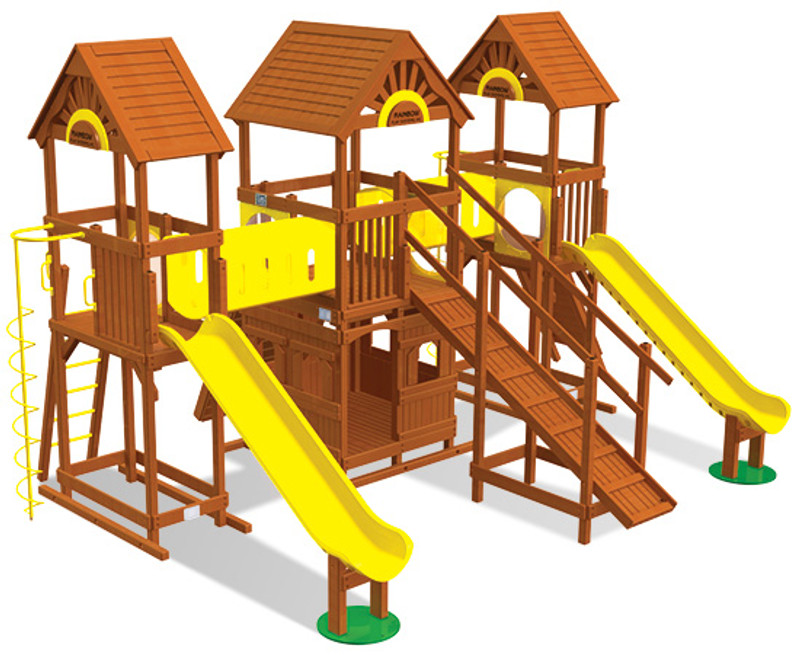 Commercial Play Village Design 802