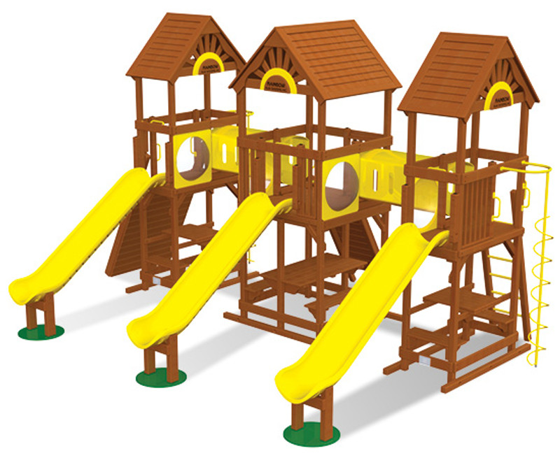 Commercial Play Village Design 803