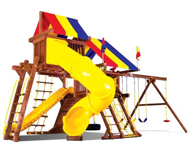 15J-Sunshine Castle Pkg V w/ 270 Spiral Slide