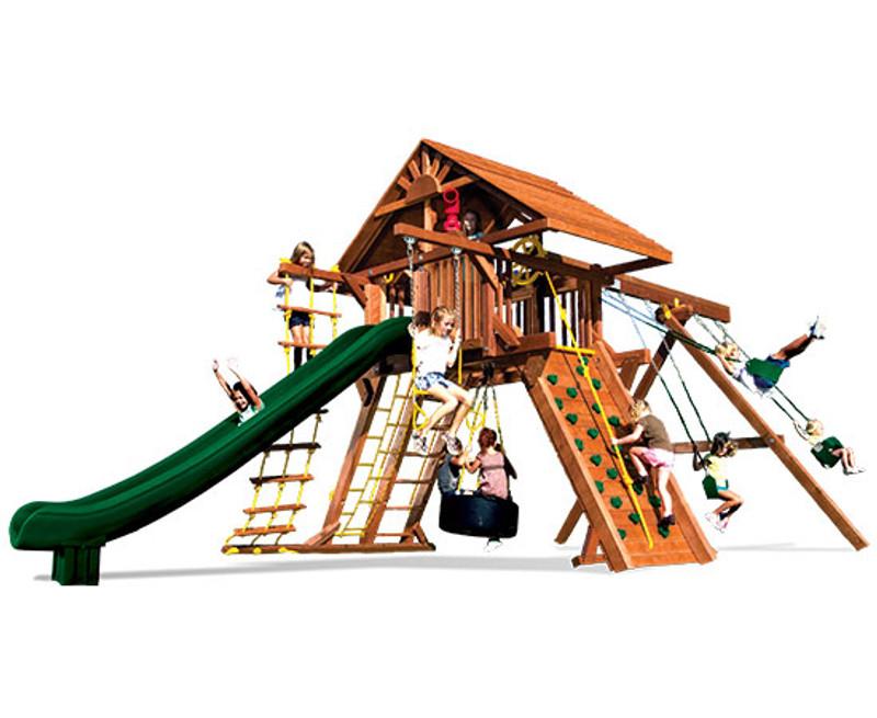 21D-Monster Castle Pkg II w/Wooden Roof