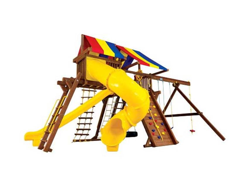 25E-King Kong Castle Pkg V w/270 Spiral Slide