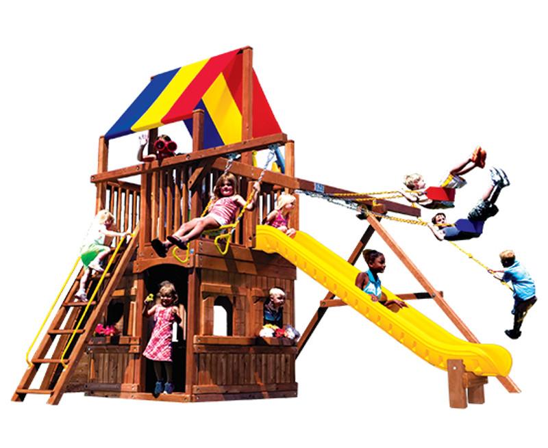 37B-Rainbow Clubhouse Pkg II w/Playhouse