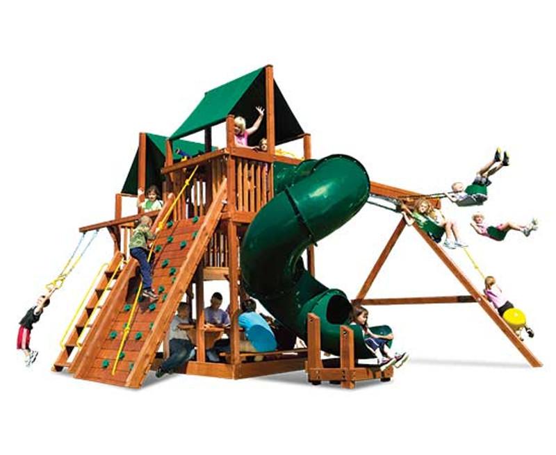 45B-King Kong Clubhouse Pkg II w/360º Spiral Slide