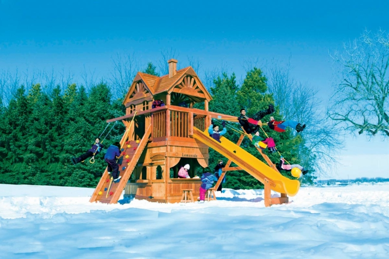 Winterizing Rainbow Play Systems Swing Sets