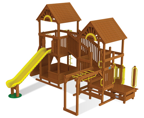 Commercial Playground Equipment ADA Options