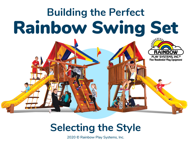 Building the Perfect Rainbow Swing Set - Part 1