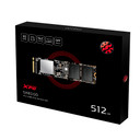 XPG SX8100: 512GB NVMe PCIe Gen3x4 M.2 2280 Solid State Drive, R/W Up to 3,500/2400MB/s (ASX8100NP-512GT-C)