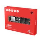 XPG SX8100: 4TB NVMe PCIe Gen3x4 M.2 2280, 3D NAND Internal Solid State Drive, R/W Up to 3,500/3000MB/s (ASX8100NP-4TT-C)