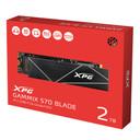 XPG GAMMIX S70 Blade: 2TB M.2 2280 NVMe 3D NAND Gen4 Gaming Internal SSD