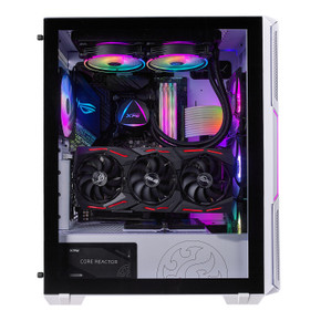 XPG Starker Compact Mid-Tower RGB Case White