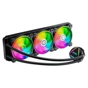 XPG Levante Addressable RGB Liquid AIO CPU Cooler: 360MM Radiator w/ 3x  120MM ARGB Fans