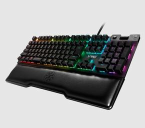 XPG SUMMONER RGB Mechanical Gaming Keyboard w/ Backlit Cherry Silver MX Switches