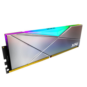XPG SPECTRIX D50 RGB Desktop Memory 16GB (2x8GB) 4800MHz DDR4 CL19 Gun Metal