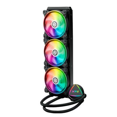 XPG LEVANTE RGB Liquid CPU Cooler: 360mm Radiator 3 x 120mm Fans