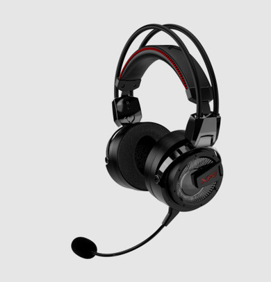 XPG Precog: Analog PC and Console Wired Gaming Headset w/ Detachable Microphone