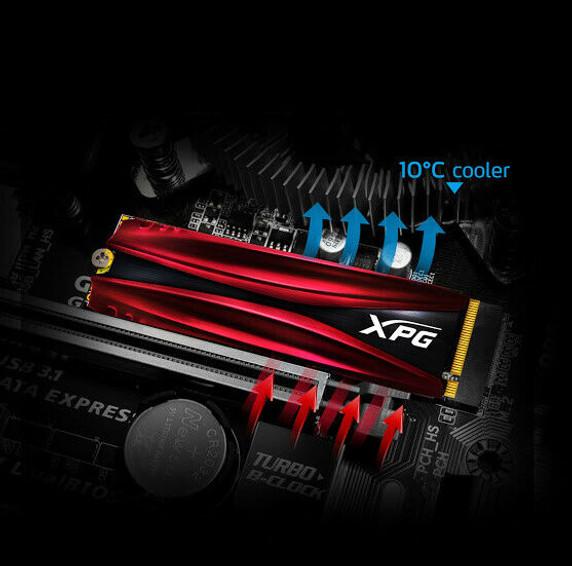 XPG GAMMIX Gaming SSD S11 Pro Series: 512GB Internal PCIe Gen3x4 M.2 2280 (NVMe)