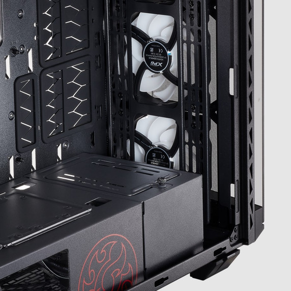 XPG BATTLECRUISER ATX RGB Mid-Tower Case - Black