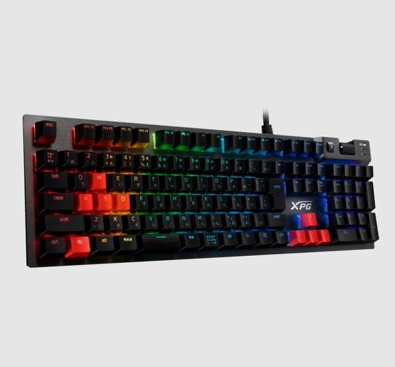 XPG SUMMONER RGB Keyboard Series: Mechanical CHERRY SILVER MX Backlight Key