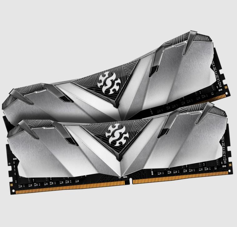 XPG GAMMIX D30 Desktop Memory: 32GB (2x16GB) DDR4 3200MHz CL16 Black
