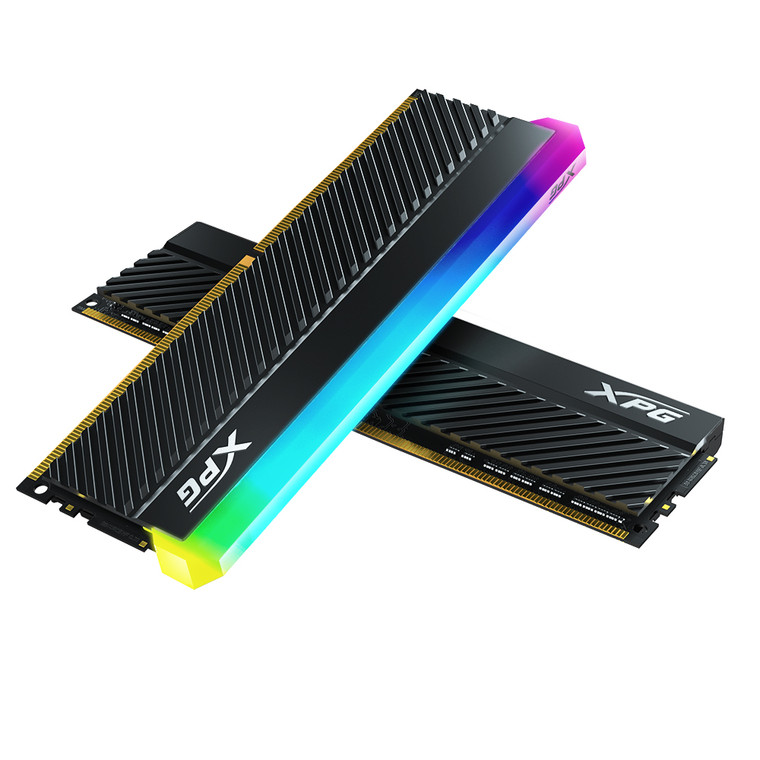 XPG SPECTRIX D45G RGB Desktop Memory: 16GB (2x8GB) DDR4 4400MHz CL19 Black