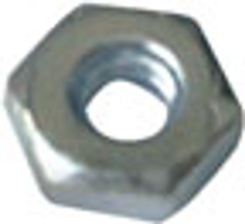 3/8:32, 1/2 in. L Steel Nut