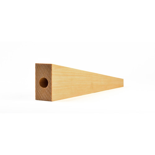 CO2 Dragster Pine Wood Blank, 12 in. Long