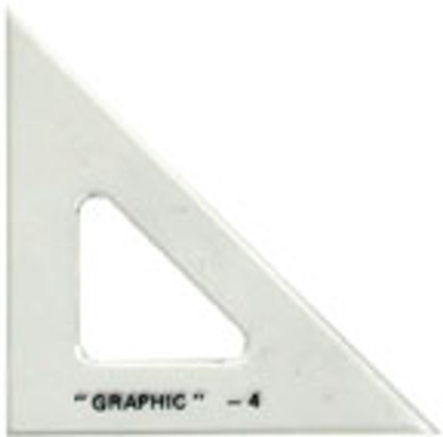 Triangle, 30 & 60 Degrees - 4 in. L