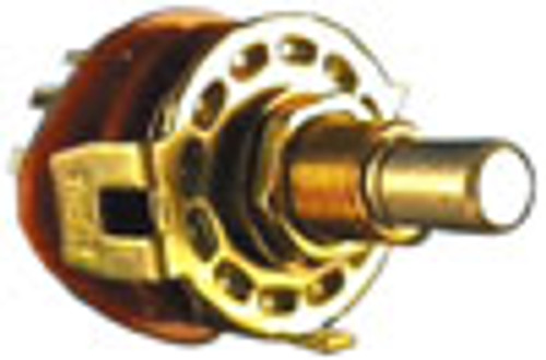 2 Pole Rotary Switch, 5 Positions