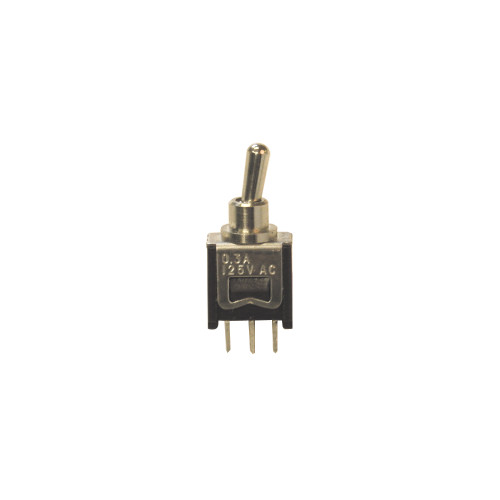 Toggle Switch, SPDT, 0.3A