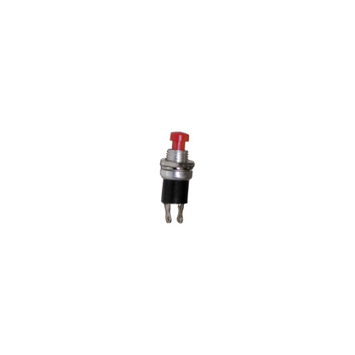 Pushbutton Switch, 110V, Red