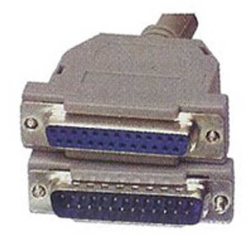 25-pin M to 25-pin F Cable