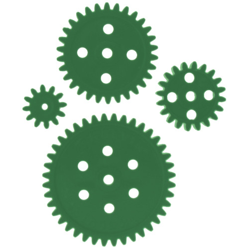 Super Economy Gears Set, GREEN **