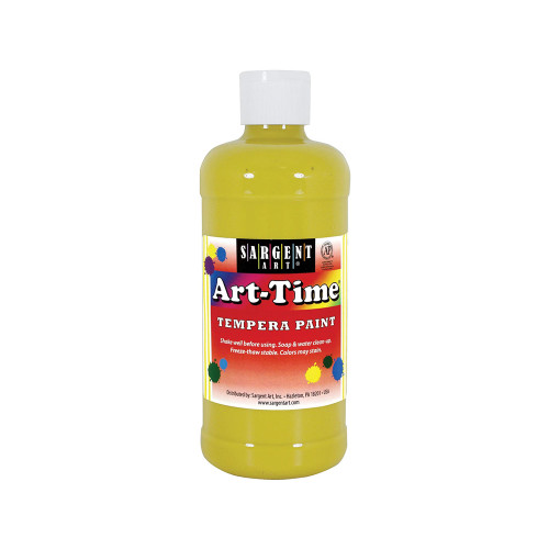 Art-Time Washable Paint - Yellow
