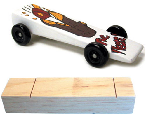 KELVIN® Downhill Racer™ Performance Wood Car Kit