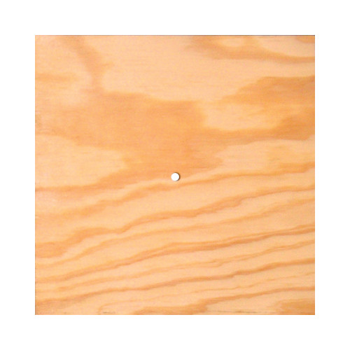 Pre-Drilled Square Wood Faceplate