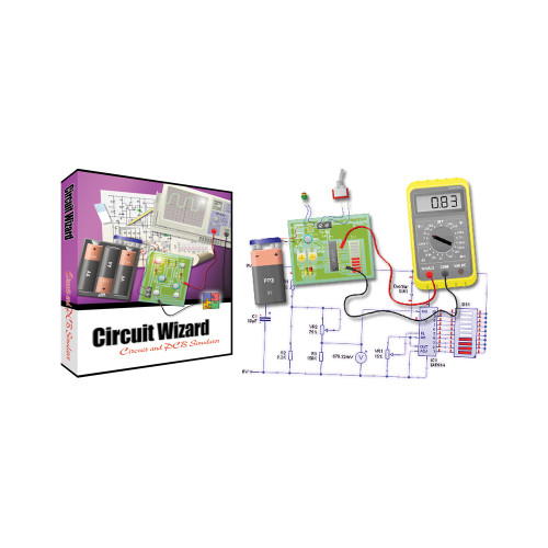 Circuit Wizard, Educational, 5-User Network Extension
