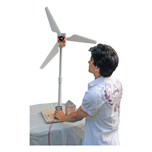 KELVIN® Experimental Wind Turbine with Assembled Project Motor Generator