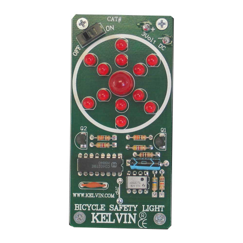 KELVIN® Bicycle Safety Light Assembled Demo