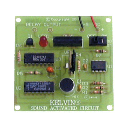 KELVIN® Sound Activated Circuit Assembled Demo