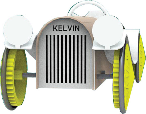 KELVIN® E.P.  Rubber Band Powered Antique Car Bulk Pack