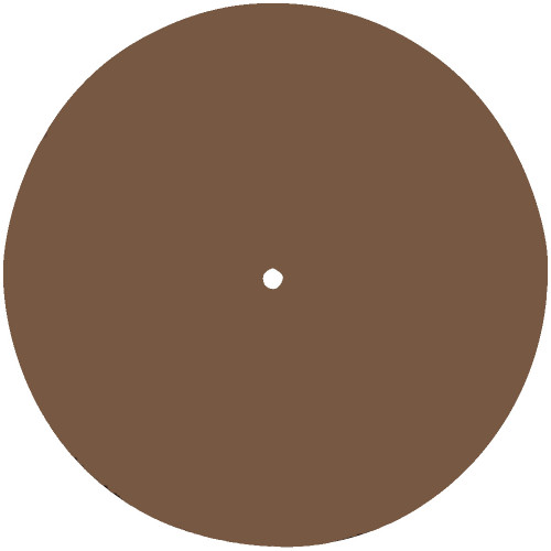 Pre-Drilled Circle Chipboard Faceplate