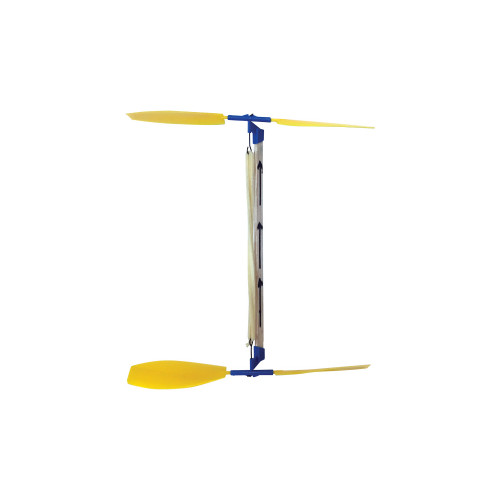 KELVIN® Double Prop Helicopter with Plastic Propellers