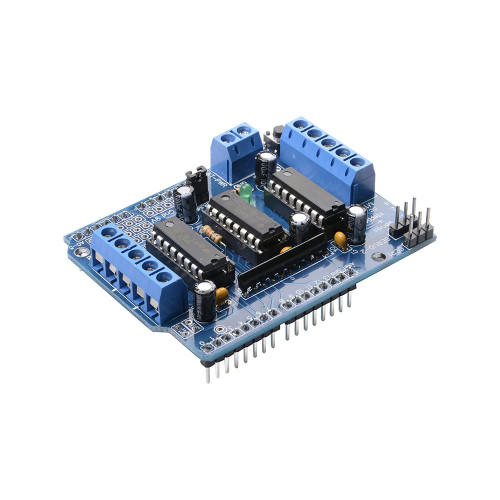 Plug-On Motor Control Shield Only - Arduino Compatible