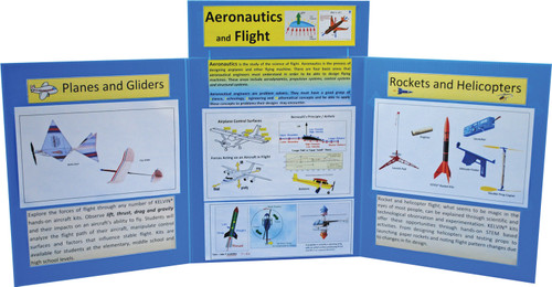 KELVIN® Gr. 7-12 STEM Lab: Advanced Aeronautics & Flight Team Pack
