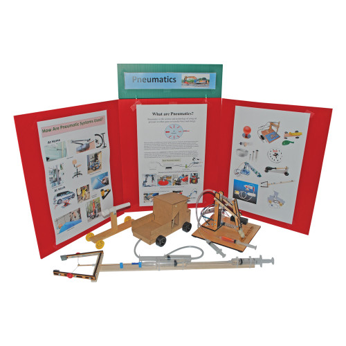 KELVIN® Gr. 4-7 S.T.E.M. Lab: Pneumatics Basic Team Pack