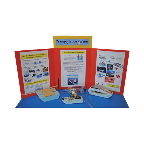 KELVIN® Gr. 4-7 S.T.E.M. Lab: Water Transportation Basic Team Pack
