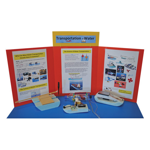 KELVIN® Gr. 4-7 S.T.E.M. Lab: Water Transportation Advanced Team Pack