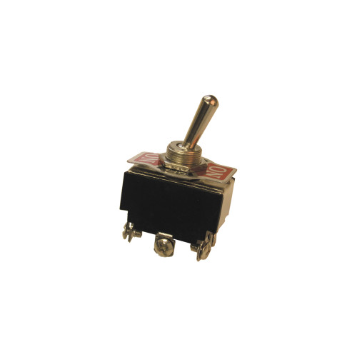 Toggle Switch, DPDT, 15A