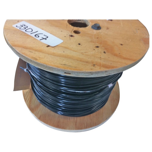 PVC Insulated Wire, Black, 1000 ft.
